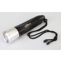 F8 10W CREE XML T6 600LM 3-Mode LED Rechargeable Diving Flashlight (3x18650) - TH-AF8X - AZZI SUB